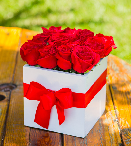 Caja de amor blanca